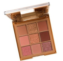 New Huda Beauty Neon Obsessions NUDE Medium Eyeshadow Palette 100% AUTHE... - $29.09