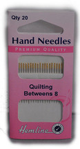 Hemline Sewing Needles, Hand Needles HL-281.8 - $3.99