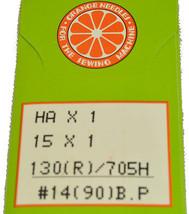 Orange Sewing Machine Needle Size 14, HOBP-90 - $4.95