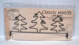 Classic Motifs 12 Inch 3 Evergreen Header Craft Holder - $15.75