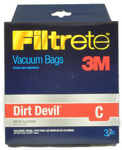 Dirt Devil Type / Type C Vacuum Cleaner Bags DES-T5700 - $4.95