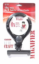 Carson LumiCraft 2x Hands Free Lighted Magnifier - $23.15