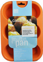 Casabella Muffin Baking Pan Standard Size Silicone - $399,30 MXN