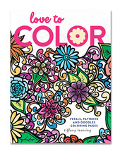 Love to Color: Petals, Patterns and Doodles Coloring Pages - $14.99