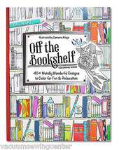 Off the Bookshelf Coloring Book - $14.95