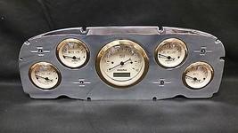 1959 FORD CAR GAUGE CLUSTER GOLD - $256.78