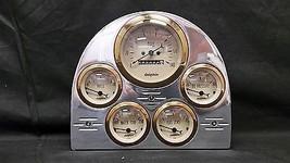 1953 FORD CAR GAUGE CLUSTER GOLD - $233.40