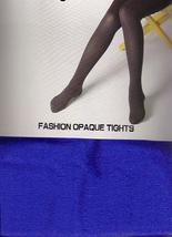ADULT ROYAL BLUE OPAQUE TIGHTS ONE SIZE - $6.00