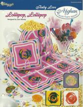 Needlecraft Shop Crochet Pattern 932030 Lollipop Afghan Collectors Series - $4.99