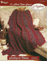 Needlecraft Shop Crochet Pattern 962320 Scallops And Chains Afghan Series - $4.99