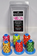 Robison Anton Super Bright Polyester Thread Neon Gift Pack 6ct - $41.95