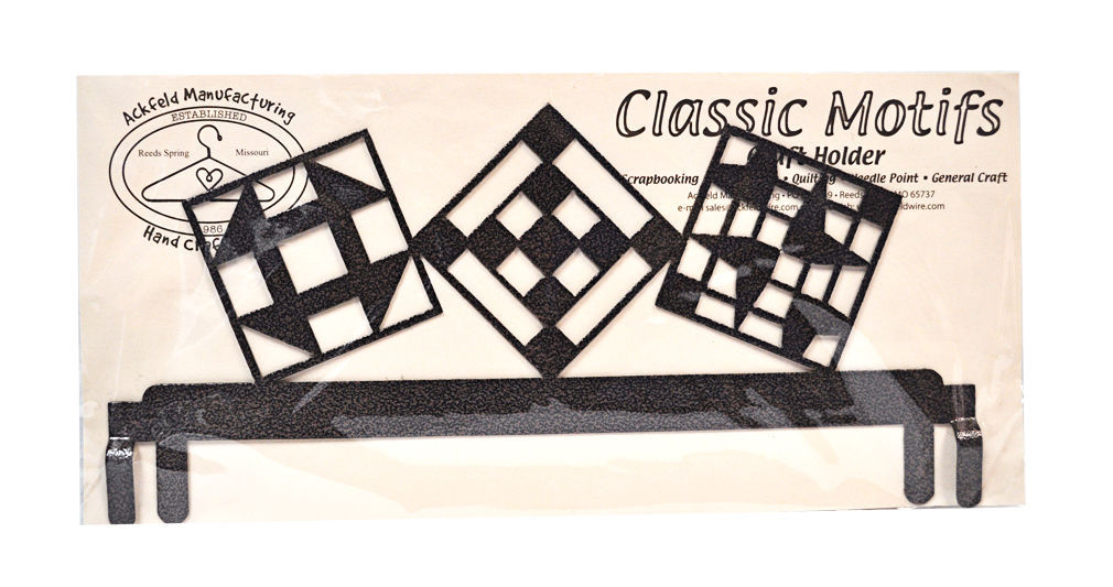 Primary image for Classic Motifs Quilt Block 12 Inch Copper Header