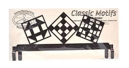 Classic Motifs Quilt Block 12 Inch Copper Header - $27.50