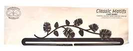 Classic Motifs Pine Needles 18 Inch Split Bottom Craft Holder - $31.50