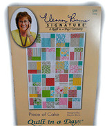 Piece of Cake Quilt in a Day Pattern - $10.50