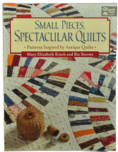 Sewing Quilting Book Small Pieces Spectacular Quilts MCB1071 - $34.75