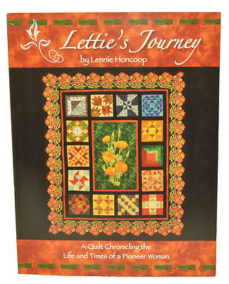 Letties Journey Quilt Chronicling Book DQ8018
