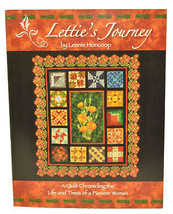 Letties Journey Quilt Chronicling Book DQ8018 - $18.00