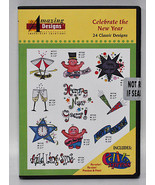 Amazing Designs Celebrate the New Year Embroidery CD, ADC-67 - $39.95