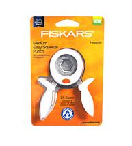 Fiskars Hexagon Medium Squeeze Punch - $18.95