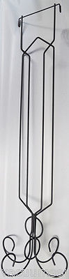 46 Inch Pedestal Stand Gray