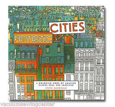 Steve McDonald's Fantastic Cities Coloring Book - $14.95