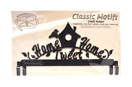 Classic Motifs Home Tweet Home 12 Inch Charcoal Header - $25.25