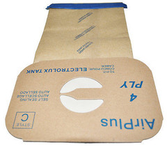 Generic Electrolux  4 Ply AirPlus Style C Vacuum Bags, 1 Case Contains 100 Bags - $70.50