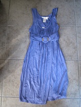 Max Studio Dress blue size M BNWT Brand New - $25.00