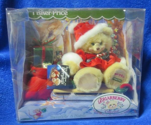 Fisher Price Briarberry Collection Berrykris & Sleigh 2000
