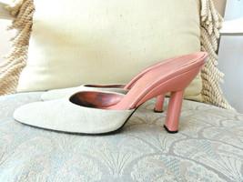 Prada Slides Pumps Pink Heels 37 It Or 7 Us - $36.00