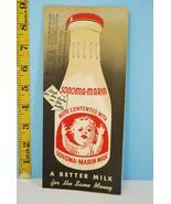 Rare 1940 Sonoma Marin Bottled Milk Colma Egger... - $19.46
