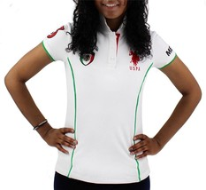 Us Polo Assn Women's Mexico World Cup 2018 Classic Cotton Golf Shirt T-Shirt