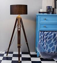 NauticalMart Classical Designer Brass Finish Tripod Floor Lamp  - $229.00