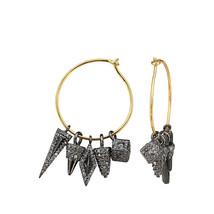 3.33 Ct Diamond Pave Star Dangle Earrings 14k Gold Handmade 925 Sterling... - $603.84