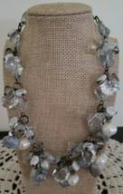 """Semi-Precious Stone &  Beaded Necklace ~ 17"""" Long ~ Multi Colored ~ New ~ 8 - $23.76"""