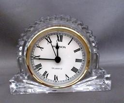 Shannon Crystal Clock Designs Of Ireland Desk Mantle Shelf Quartz - $15.00