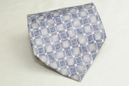 Stafford 100% Imported Silk Neck Tie Geometric ... - $5.95