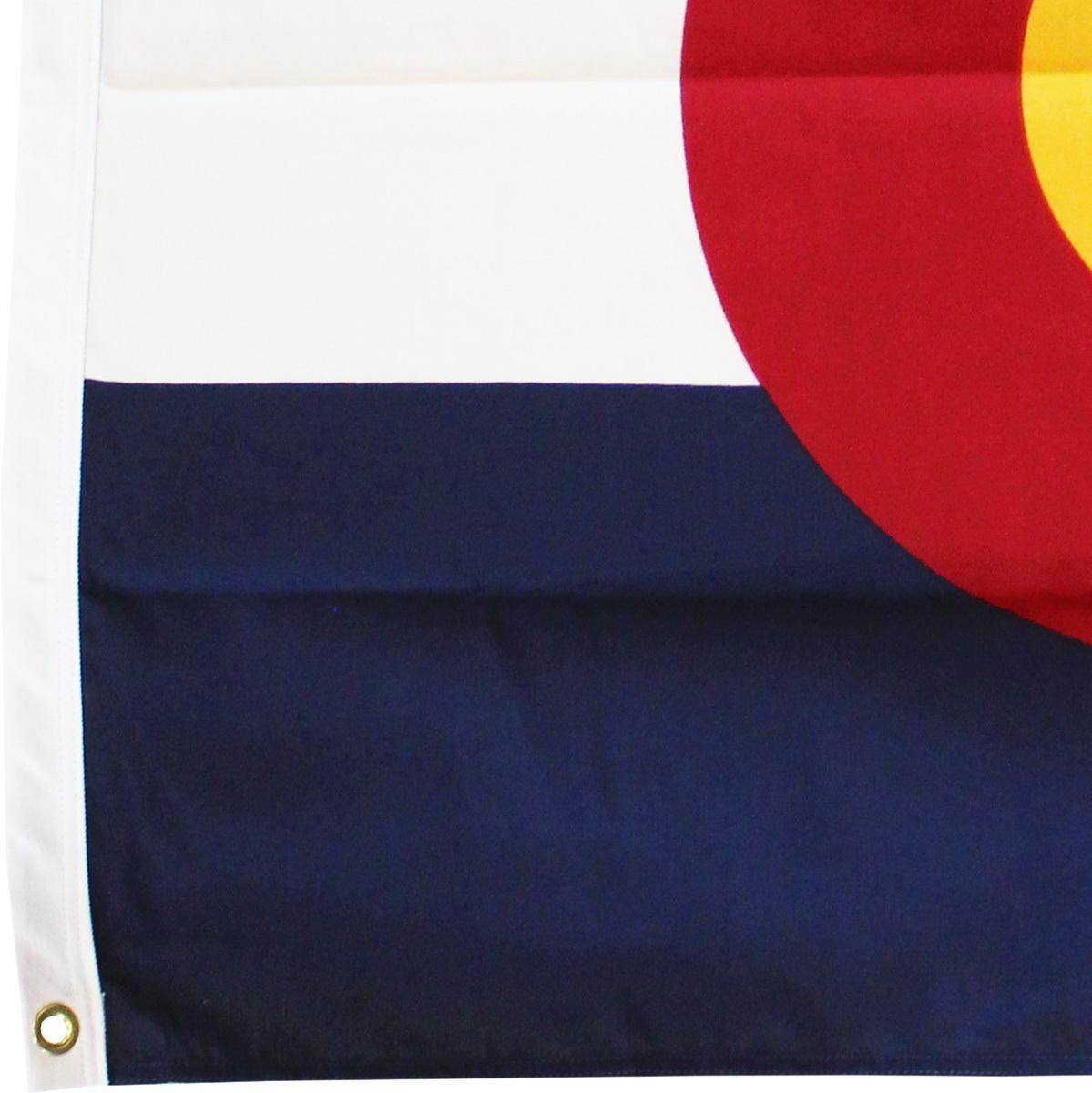 Colorado - 4'X6' Heavy Duty 2-Ply Polyester Flag