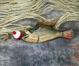 Catch of the Day No. 1 Fish Christmas Ornament - $8.99