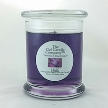 Lilac Scented Gel Candle - 120 Hour Deco Jar - $14.36