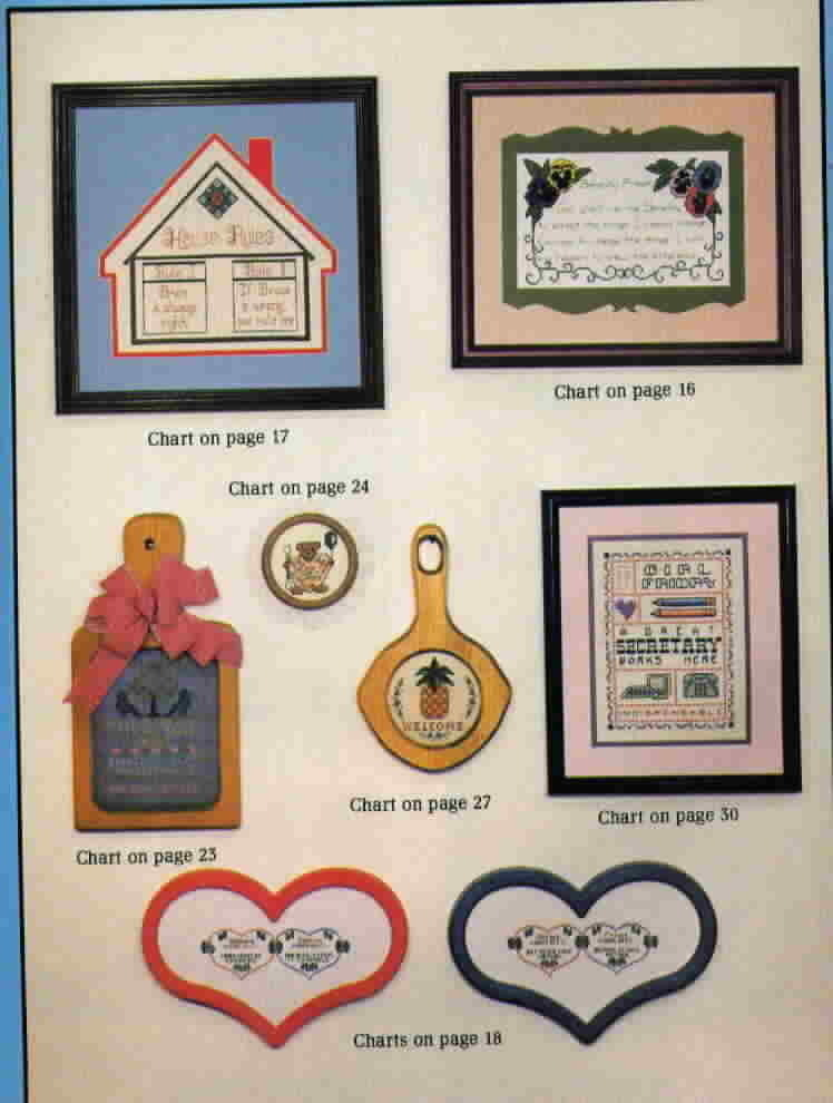 The Cross Stitcher Magazine Volume 5 Number 4 Oct Nov 1983