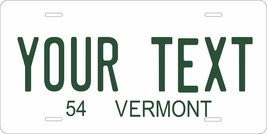 Vermont 1954 Personalized Cutoms Novelty Tag Vehicle Car Auto License Plate - $16.75