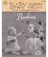 Baby Sets Baby Knit and Crochet Patterns Beehiv... - $7.39