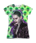 Suicide Squad The Joker Jacket Skull Allover Front Sublimation T-shirt t... - £14.69 GBP+