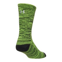 UNDER ARMOUR UA Twist Tech Crew Socks sz M Medium Men's Shoe (4-8.5) Gre... - $19.98