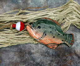 Catch of the Day No. 5 Fish Christmas Ornament - $8.99