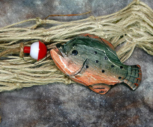 Catch of the Day No. 5 Fish Christmas Ornament