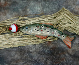 Catch of the Day No. 6 Fish Christmas Ornament - $9.98