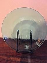 "ARCOROC JARDINIERE Green Teal Glass 9""+ Dinner Plate - $15.79"